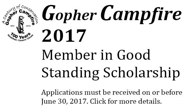 2017 Gopher Campfire Scholarship